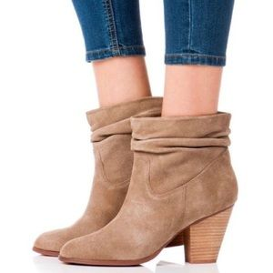Chinese Laundry Under Cover Suede Slouchy Bootie